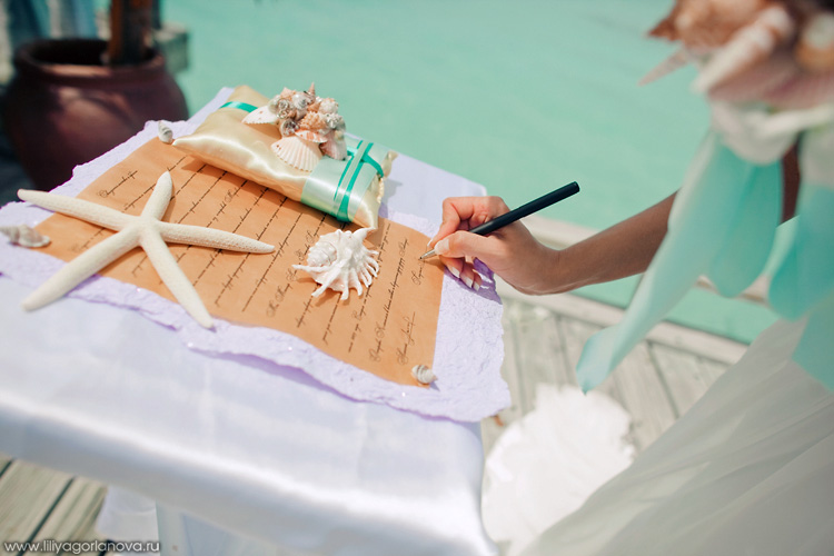 Океанская свадебная церемония на курортах Anantara Dhigu и Anantara Veli 5*+